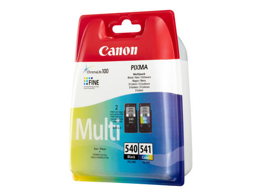 Multipakkaus - Canon PG-540 / CL-541 - Black & Color