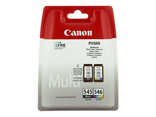 Mustekasettipakkaus - Canon PG-545/CL-546 - Black & Color