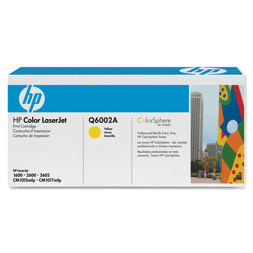 HP Q6002A -  HP 124A Yellow