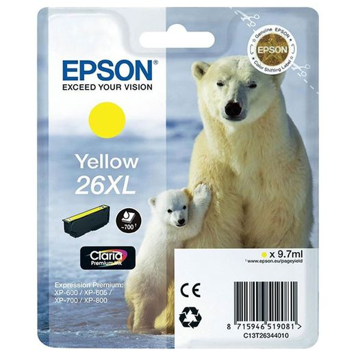 Mustekasetti Epson T2634XL Yellow