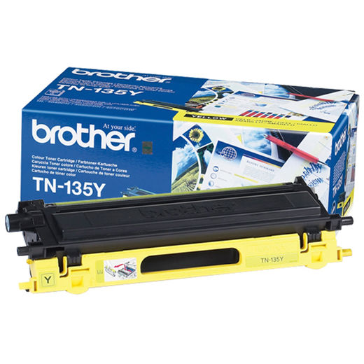 Brother TN-135 Yellow - 4000 s
