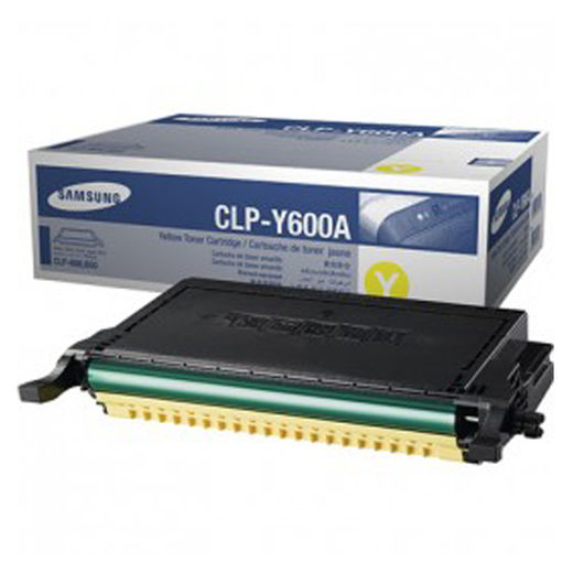 Samsung CLP-Y600 Yellow - 4000 s.